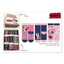 Minnie socks in display
