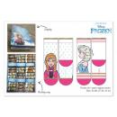 groothandel Licentie artikelen: Frozen Disney sokken in display