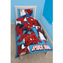 Spiderman bettwasche