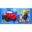 Fireman Sam toalla de terciopelo playa