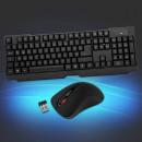 groothandel Beeldschermen: Stel USB-muis met LED en toetsenbord draadloze zwa