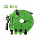 wholesale Garden & DIY store: Flexible water  hose 22.5m + Multifunk.-shower