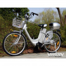 Electric Bicycle Citybike Basket Suspension Fork C