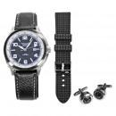 Set de regalo para caballero Relojes + 2 bandas br