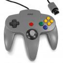 Gris NIN Nintendo contrôleur 64, regard oldschool,