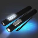 Großhandel Taschenlampen: 2er Set LED multifunktionale Taschenlampe Eaxus