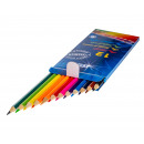 TSI colored pencils in the 12-pack, hexagonal