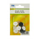 wholesale Shirts & Blouses:Buttons set of 20 pack