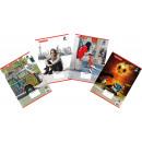 Großhandel Geschenkartikel & Papeterie: Collegeblock A4 kariert, 80 Blatt
