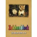 grossiste Cahiers et blocs: Dessin Pad A4 20 feuilles