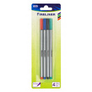 groothandel Stationery & Gifts:TSI Fineliner set van 4