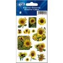 Schmucketiketten  Sonnenblumen