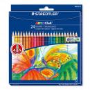 STAEDTLER 144 NC24 colored pencils 24er hexagonal