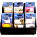Etiketten-Set Buch- und Heftetiketten mit Display