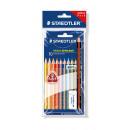 STAEDTLER TRICKI DICKI 10 colored pencils in the b