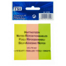 Sticky notes 25 x 76 mm, pack of 3