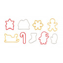 Cookie Cutters Christmas DELÍCIA, 9 pieces
