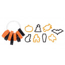 wholesale Household & Kitchen: Halloween cookie cutters DELÍCIA, 8 pieces