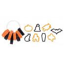 Halloween-Ausstechformen DELÍCIA, 8 Stück