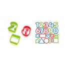 Cookie cutters numbers DELÍCIA KIDS, 21 pieces
