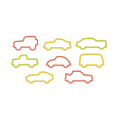 Cookie Cutters Cars DELÍCIA KIDS, 8 pieces