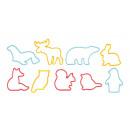 Ausstechformen Tiere DELÍCIA KIDS, 9 Stück