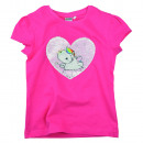 Großhandel Kinder- und Babybekleidung: Pummeleinhorn - T-Shirt Mädchen mit Wendepaillette