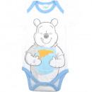 wholesale Childrens & Baby Clothing: Winnie the Pooh - Baby Short Sleeve Bodysuit Boys