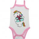 Chubby Unicorn - Body sin mangas para bebé niña