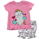 wholesale Childrens & Baby Clothing: Chubby Unicorn - Baby Set T-Shirt & Pants girl