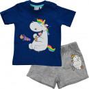 wholesale Childrens & Baby Clothing: Chubby Unicorn - Baby Set T-Shirt & Pants boys