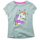 Großhandel Kinder- und Babybekleidung: Pummeleinhorn - Kinder T-Shirt Mädchen mit Glitzer