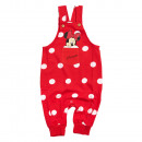 wholesale Trousers: Mickey Mouse - Minnie Dungarees red