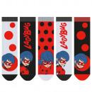 Miraculous - paquete de 5 calcetines para niños ni