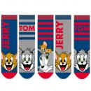 nagyker Zoknik és harisnyák: Tom & Jerry - gyerek zokni fiúk 5 csomag