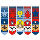 wholesale Licensed Products: Paw Patrol - Children's socks boys 5 pack