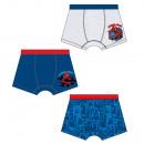 grossiste Vetement et accessoires: Spiderman - Lot de 3 slips pour enfants garçons
