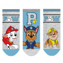 wholesale Socks and tights: Paw Patrol - Baby sneaker socks boys 3-pack