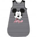 Großhandel Sport & Freizeit: Mickey Mouse - Baby Schlafsack schwarz/weiß