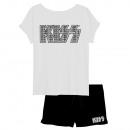 wholesale Nightwear: KISS - short-sleeved pyjamas Men's