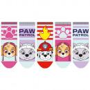 Großhandel Lizenzartikel: Paw Patrol - Kinder Sneaker Socken 5er Pack