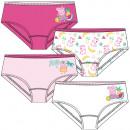 nagyker Licenc termékek: Peppa Pig - Gyermek alsónadrág lányok 4-csomag