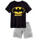 Großhandel Nachtwäsche: Batman - kurzärmeliger Schlafanzug Herren