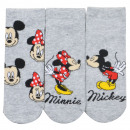 Großhandel Lizenzartikel: Mickey Mouse - Sneaker Socken Frauen 3er Pack