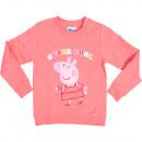 Großhandel Fashion & Accessoires: Peppa Pig - Kinder Sweatshirt Mädchen
