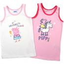 Peppa Pig - Podkoszulek dziecięcy dziewczęcy 2-pak