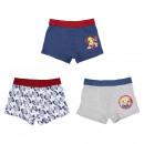 groothandel Licentie artikelen: Brandweerman Sam retro kinderboxer jongens 3-pack