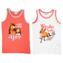 groothandel Kleding & Fashion: Spirit - kinderhemd meisjes 2-pack