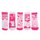 mayorista Artículos con licencia: Peppa Pig - 5 calcetines deportivos