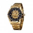 Kall Luu the watch with the skull motif